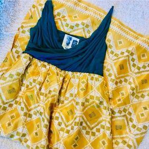 Edme & Esyllte Anthropologie Cuernavaca Maxi Dress